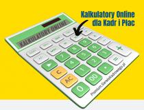 Kalkulatory Online dla Kadr i Płac